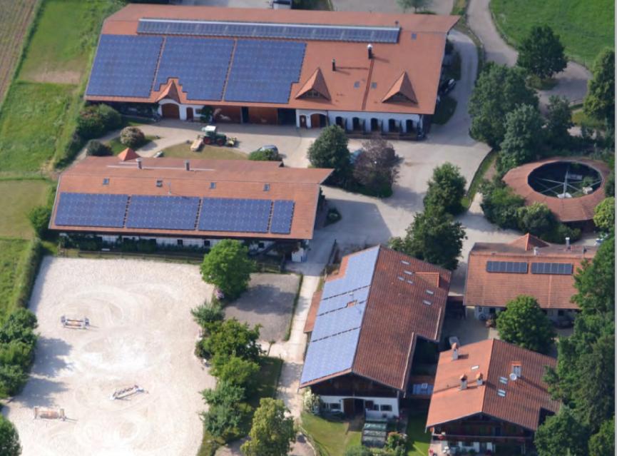 Firmensitz der Meindls in Kirchanschöring.