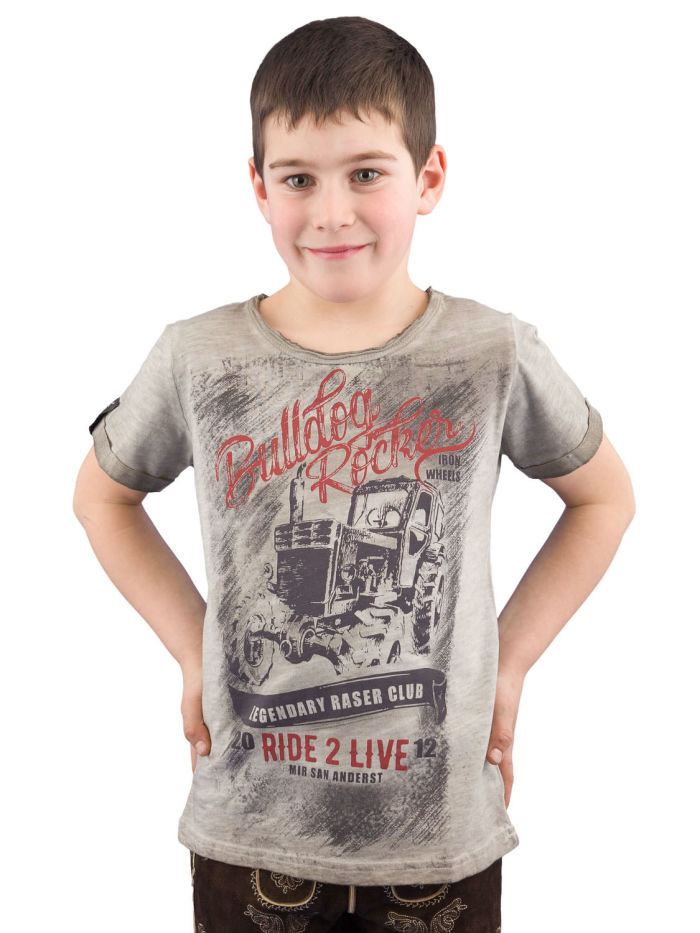 T-Shirt HangOwear Mitch Kids mud