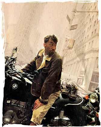 Goisern mit Meindl Lederhose in New York