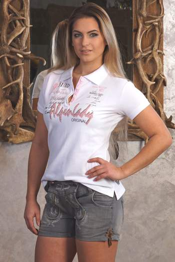 Trachten T-Shirt Alpenlady